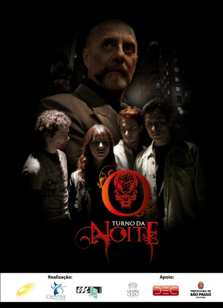 "Banner do seriado ""O turno da noite""."